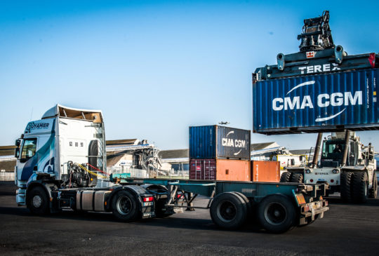 Transport Guyamier spécialiste en aquitaine du conteneur stockage logistique
