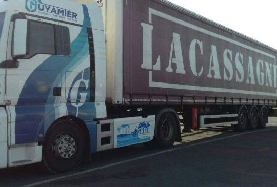 Transports Guyamier affretement stockage logistique