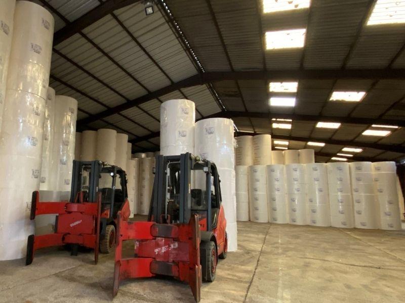 Stockage plateforme logistique de rion des landes Groupe Guyamier