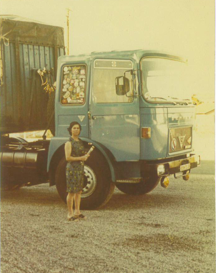 Monique Guyamier fondatrice des transports Guyamier