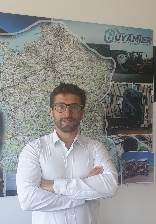 Nicolas GUYAMIER Dirigeant Transports Guyamier Stockage logistique supply Chain