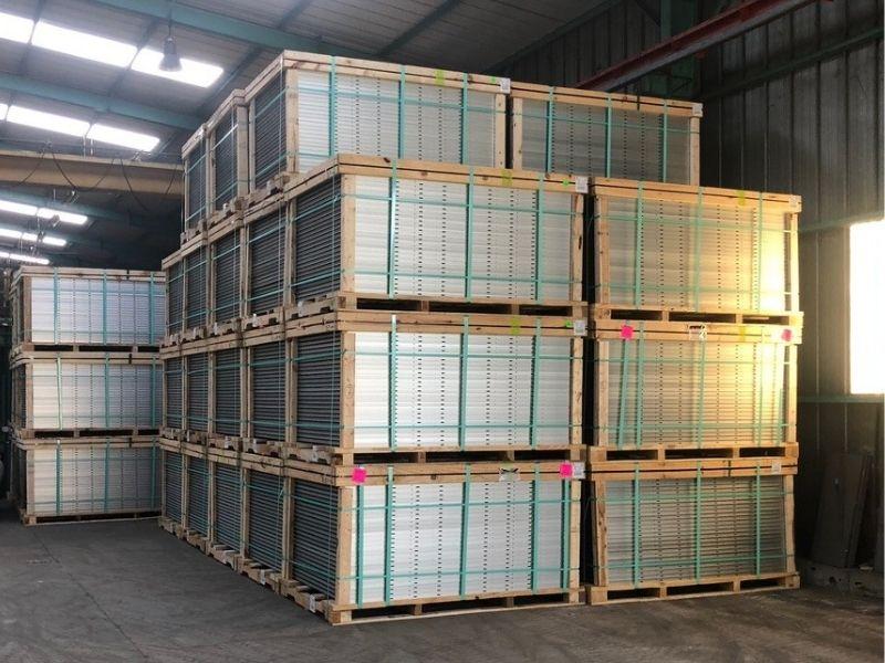 Stockage plateforme logistique d'Ambès Groupe Guyamier