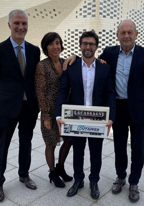 Transport Guyamier reprise Lacassagne Nicolas Guyamier Erick Picquenot